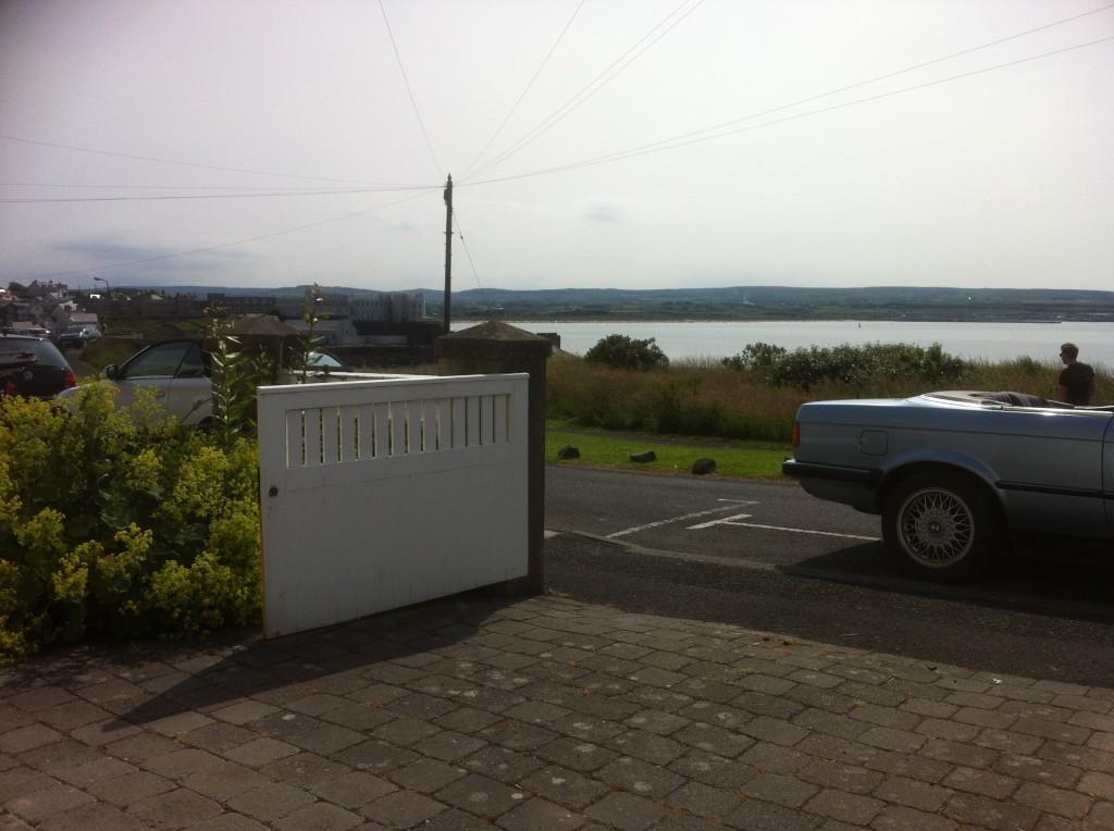 Part of Portstewart town, far end of Portstewart Beach and part of Castlerock Beach